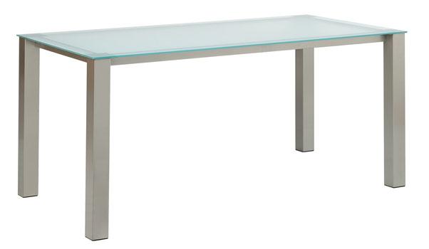 Set quadra 90 barstoel elyn tafels en stoelen meubelen gies okegem - Glazen tafel gesmeed ijzer en stoelen ...